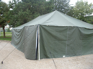 Armbruster Mfg. Co. offers 19ft x 32ft Disaster Relief Tents that can be used for temporary housing command centers hunting tents storage ect. & Armbruster Manufacturing Co. | Disaster Relief Tents and Emergency ...