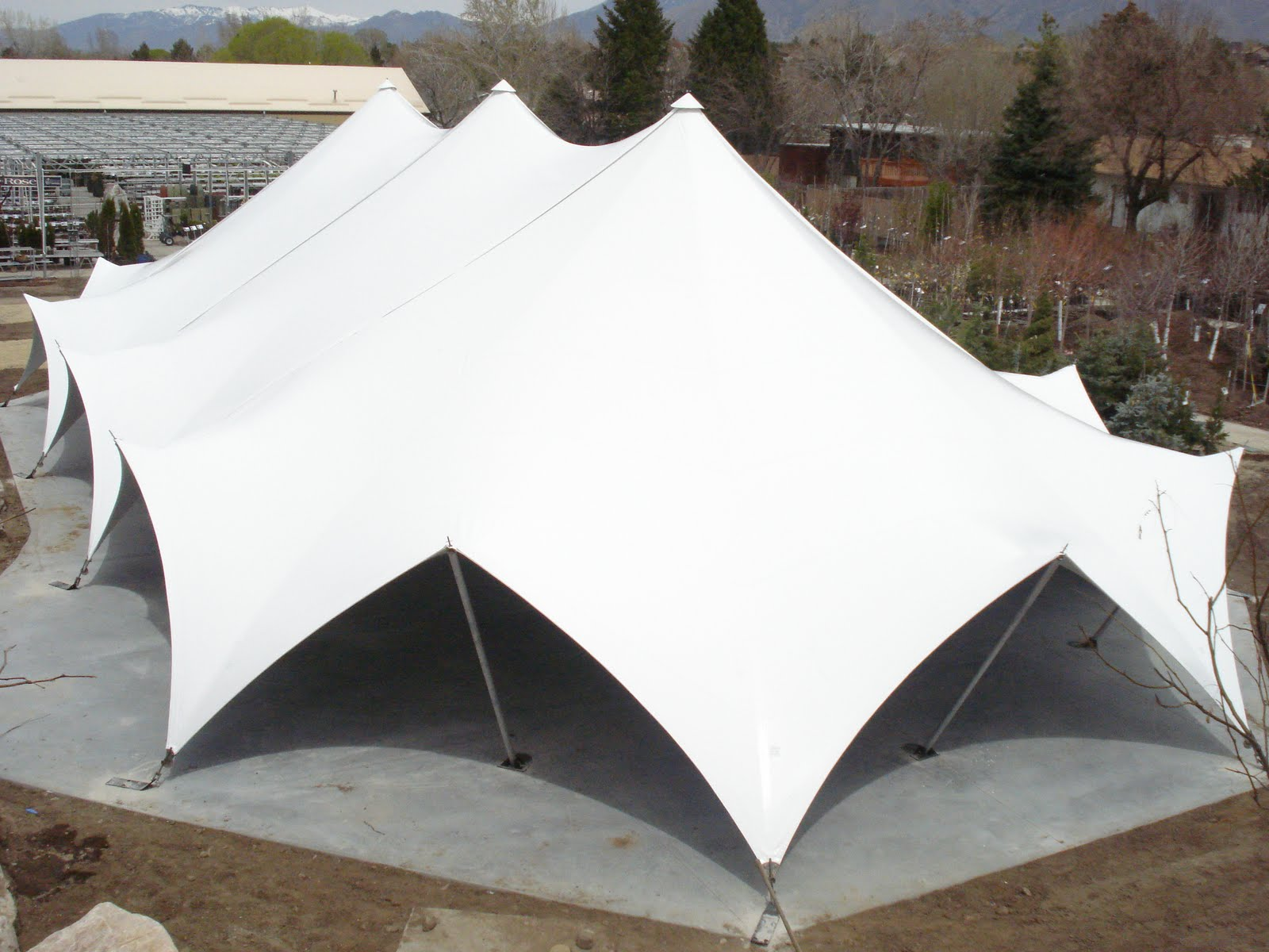 ... to your existing venue but donu0027t want to increase your taxes or building an extension is not in your budget? Try adding a heavy duty elegant tent from ... & Armbruster Manufacturing Co. | Try a Party Tent as an building ...