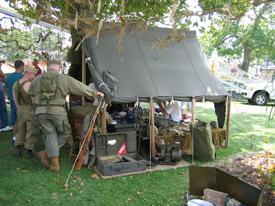 Small Wall Tent & Armbruster builds WWII Canvas Tents | Armbruster Tent Maker