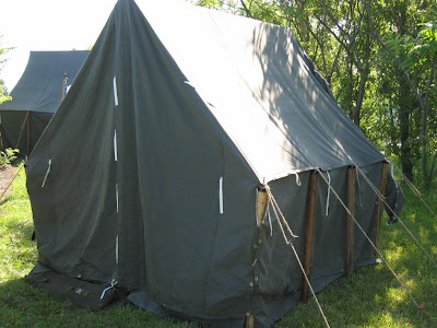 Wwii Canvas Tents Are Now 15 Off Armbruster Tent Maker