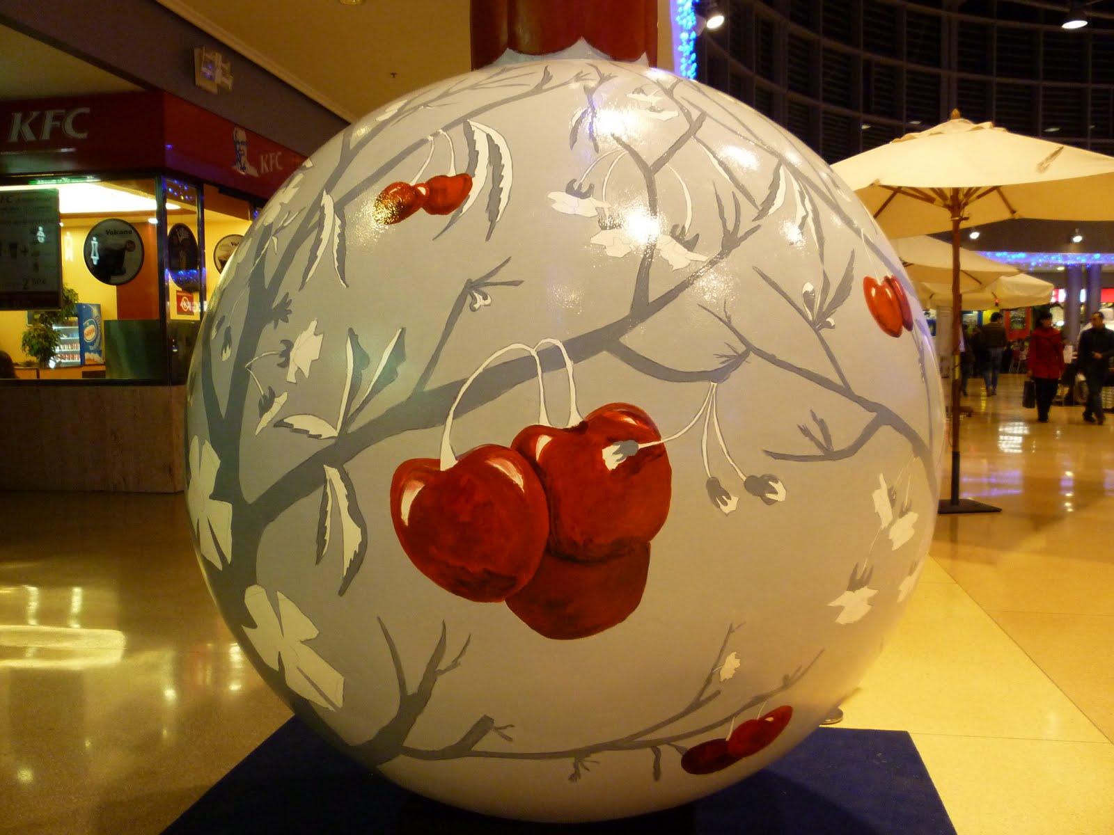 Rosa de la calle bola de navidad - Bolas navidad gigantes ...