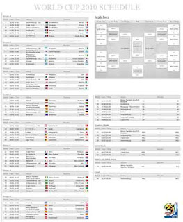 download poster schedule soccer world cup 2010
