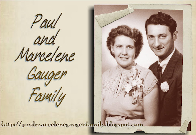 Paul and Marcelene Gauger Family