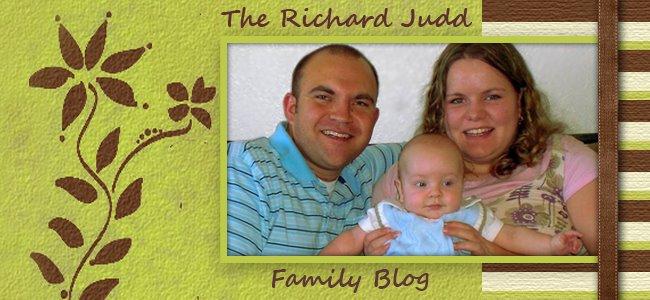 The Richard Judd Family Blog