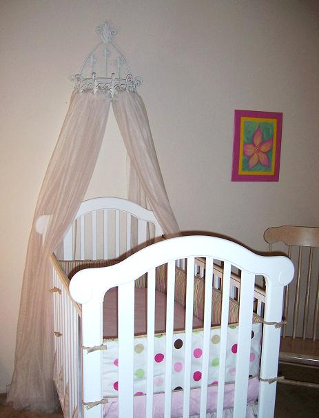 Crib Canopy for the Princess