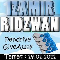 Izamir Ridzwan Pendrive GiveAway