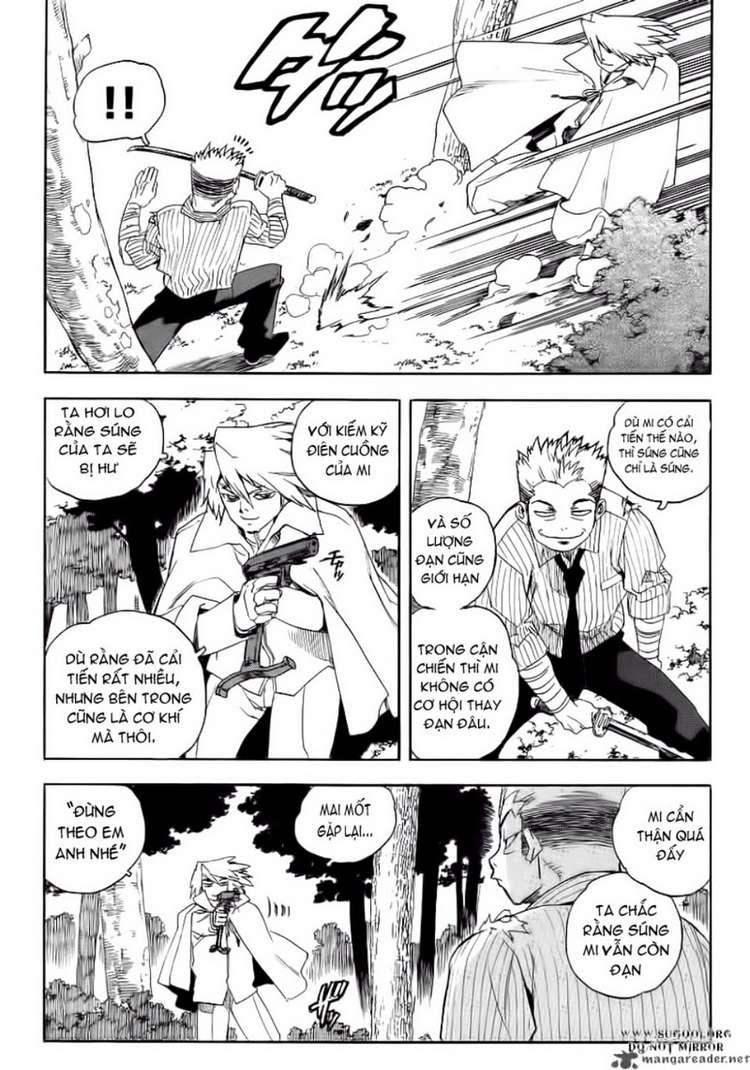 Aiki chap 64 - Trang 23