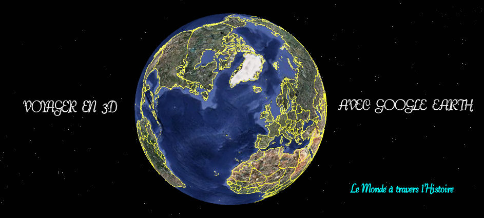 Voyager en 3D avec Google Earth