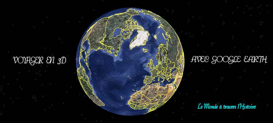 Voyager en 3D avec Google Earth