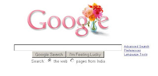 Google Mother's Day Logo