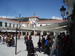 Plaza Mayor con toldos