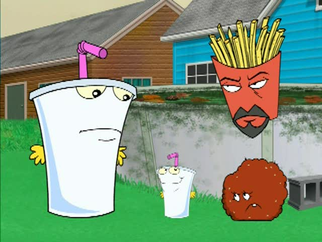 Aqua Teen Hunger Force Season 4 Episode 12 Ezekiel