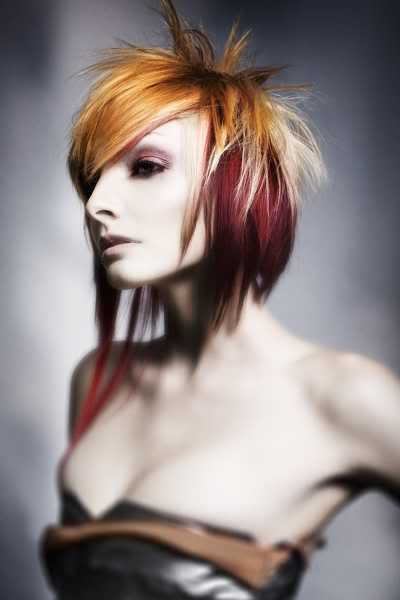 Hairstyles For Females Female Punk Hairstyles