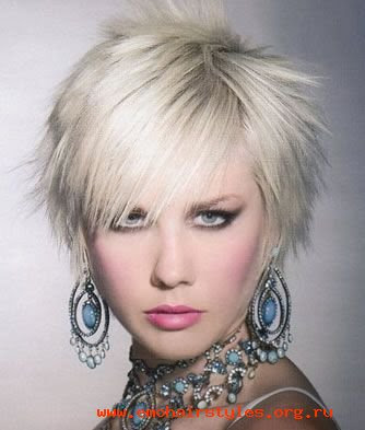 Short Punk Emo Hairstyles For