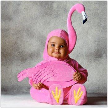 how to make a homemade flamingo costume