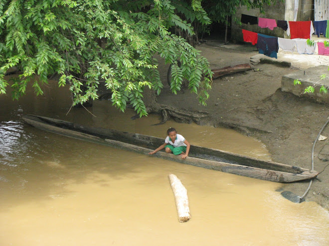 El Patio de su casa es el Rio San Jorge