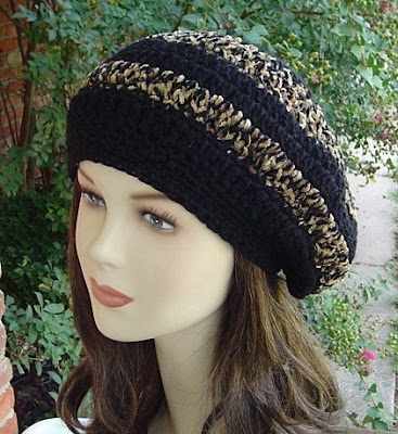 CROCHET HAT PATTERN RASTA - Free Patterns