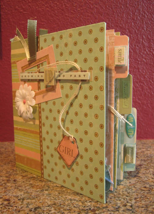 Scrapbook Ideas for a Personal Journal