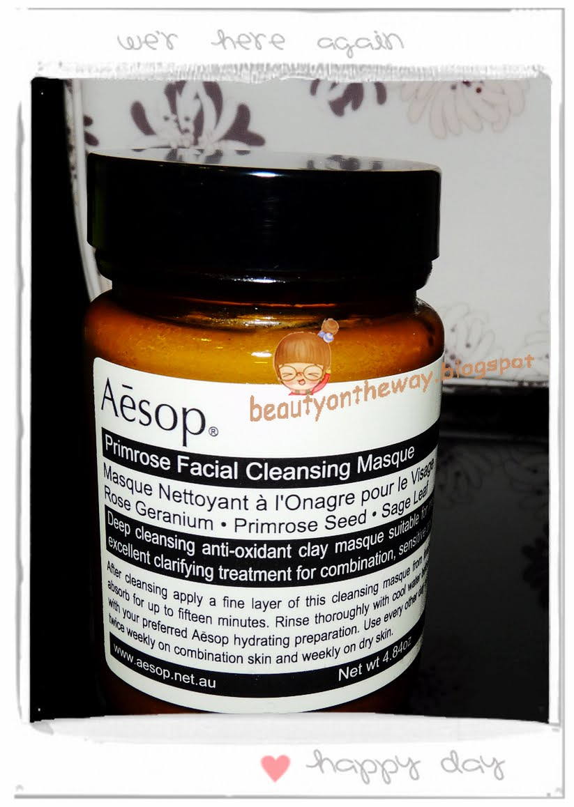 Primrose facial cleansing