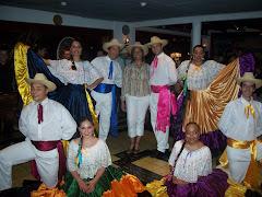 Grupo de Baile Tipico Costarricense (verano 2007)