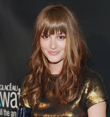 Leighton Meester News Bangs and Hairstyle