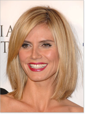 heidi klum bob haircut 2010. This ob haircuts for women