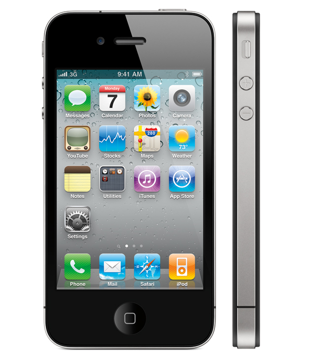 Mobile iPhone GUI Stencil