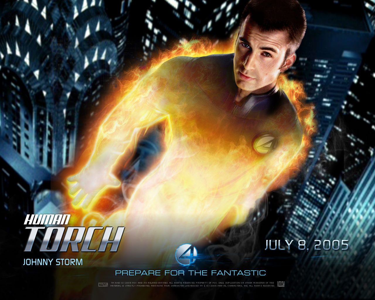 Fantastic 4 HD & Widescreen Wallpaper 0.335167358287367