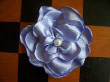 Satin Fabric Flowers