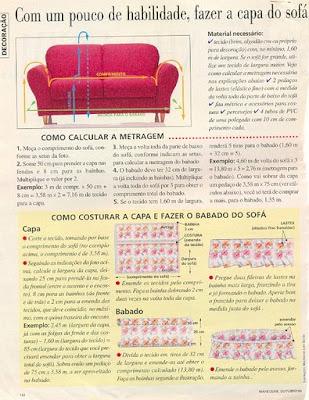 выкройки перетяжка дивана