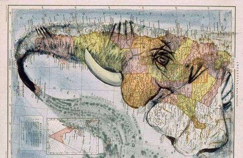 Worthfun unusual atlas artistic way to map the world unusual atlas artistic way to map the world gumiabroncs Choice Image