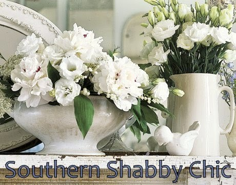 Shabby Chic Living Room. Southern Shabby Chic