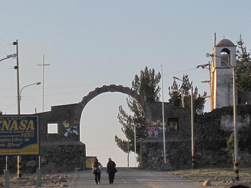 Grenze zu Bolivien