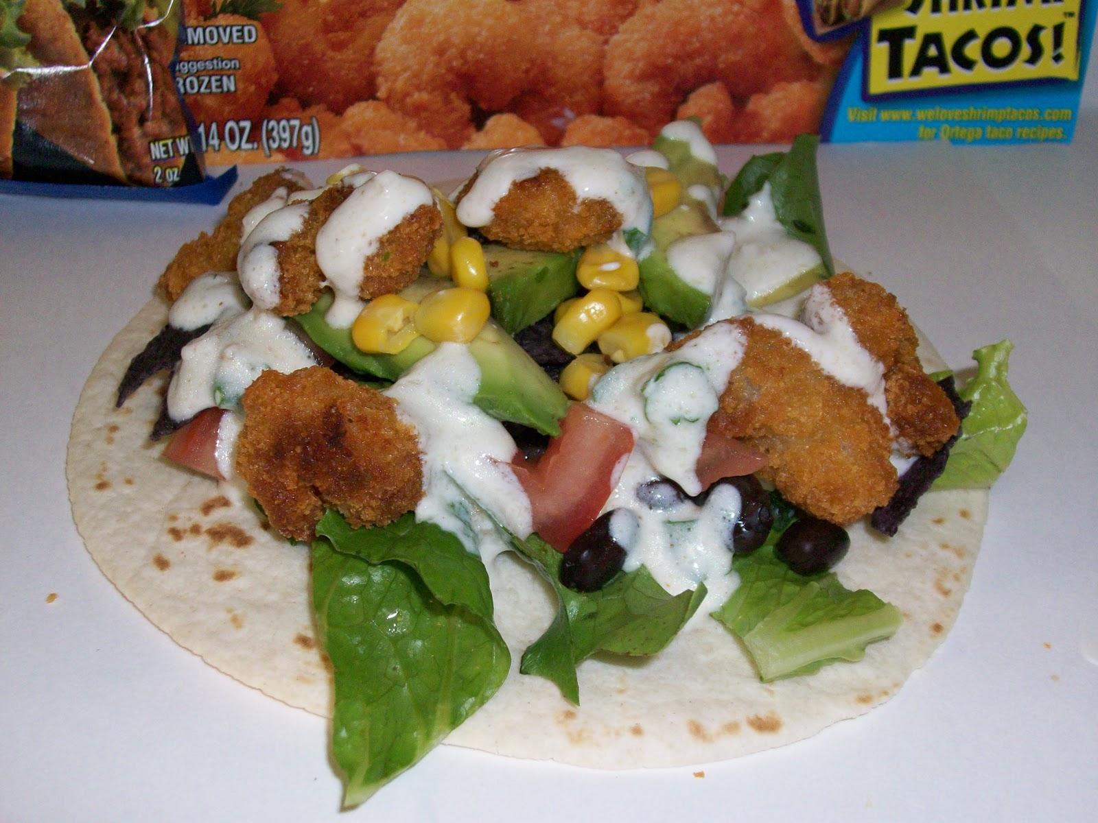 Pretend Chef: Southwestern-Style Shrimp Tacos