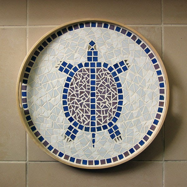 Idees Mosaiques Image : Les mosaïques de pistache une tortue
