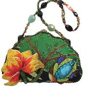 Mary Frances Handbags Lily Pond