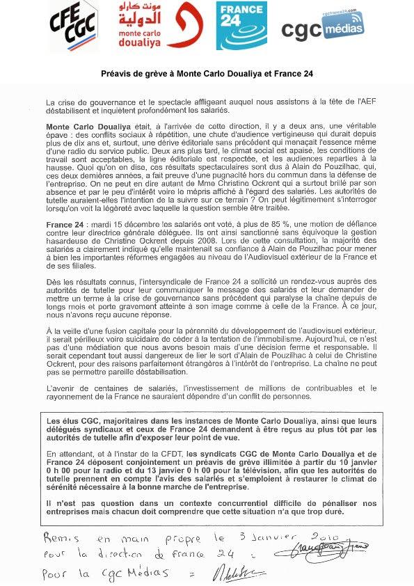 Le blog cgc des m dias les syndicats cgc de monte carlo for Radio monte carlo doualiya