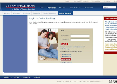 Chevy Chase Bank Online Banking - Login to ChevyChaseBank.com Internet Banking