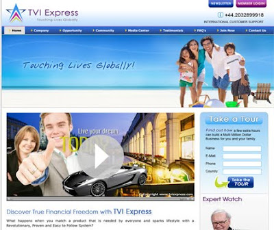 TVI Express Login - Member login at TVIExpress.com Travel Company