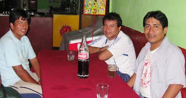 Maestros del folklore Ayacuhano Jose Pariamanco y Juan Martines