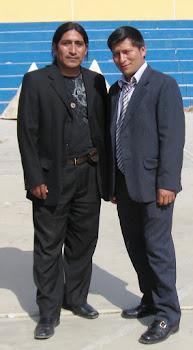 Yo y Delmer Murillo