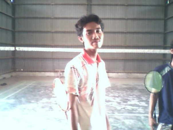 badminton is my hobby