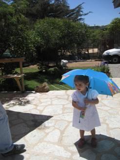 Rafaela y su paraguas de Backyardigans