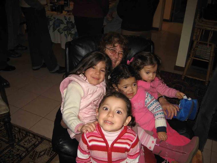 Chezé y sus niñitas