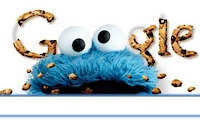Google Doodle, Sesame Street, Cookie Monster