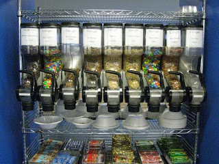 Google New York office, snack machine