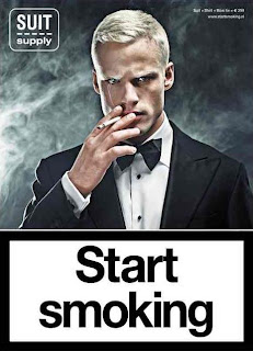 SuitSupply Start Smoking Ad