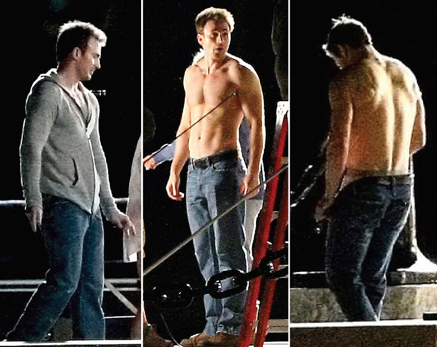 from Desmond chris pine naked pics