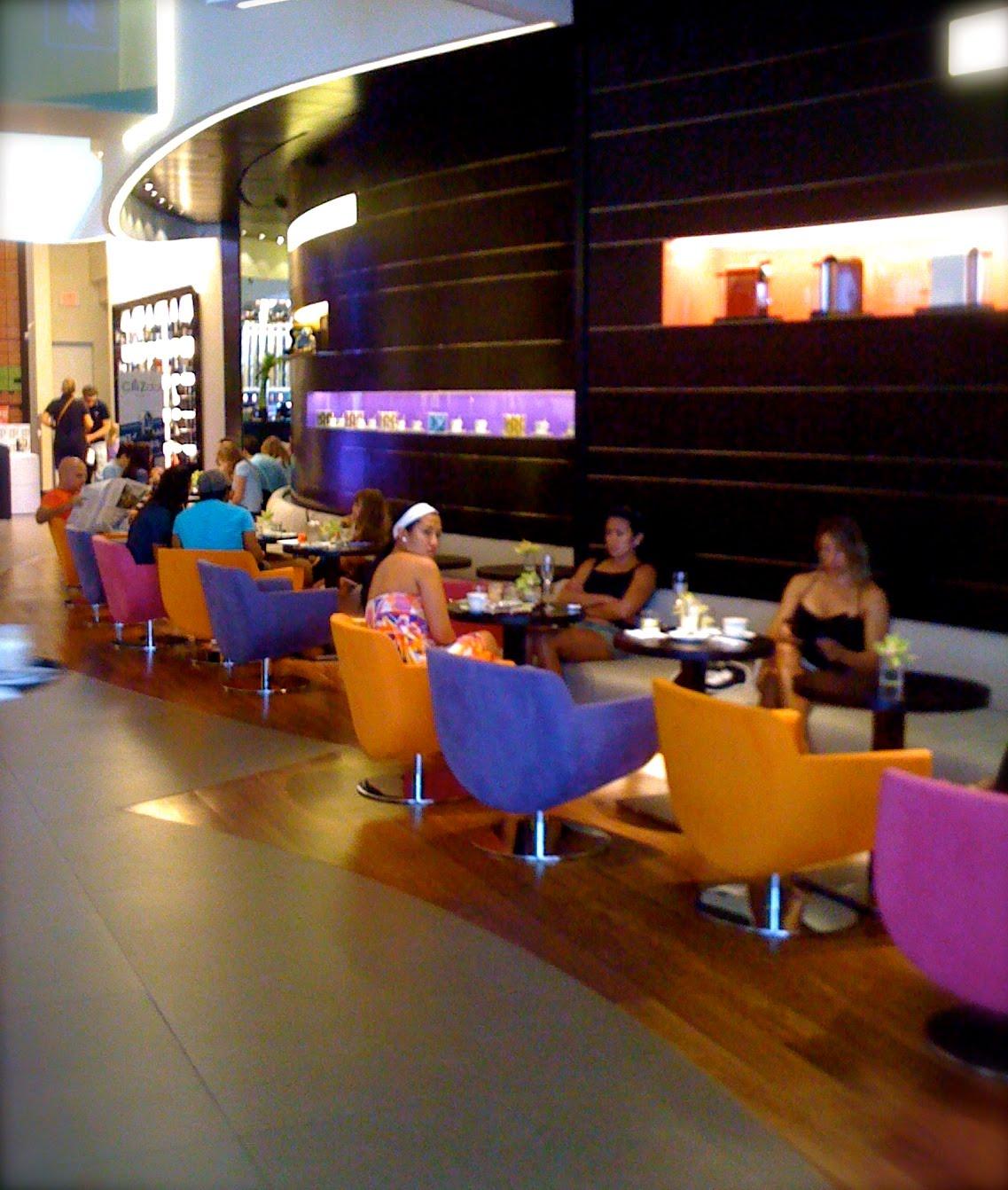 postcards from the air oh la la nespresso in miami beach. Black Bedroom Furniture Sets. Home Design Ideas