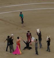 Antitaurinos en Las Ventas